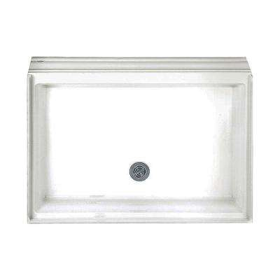 Town Square 34 in. x 48 in. Single Threshold Shower Base in White
