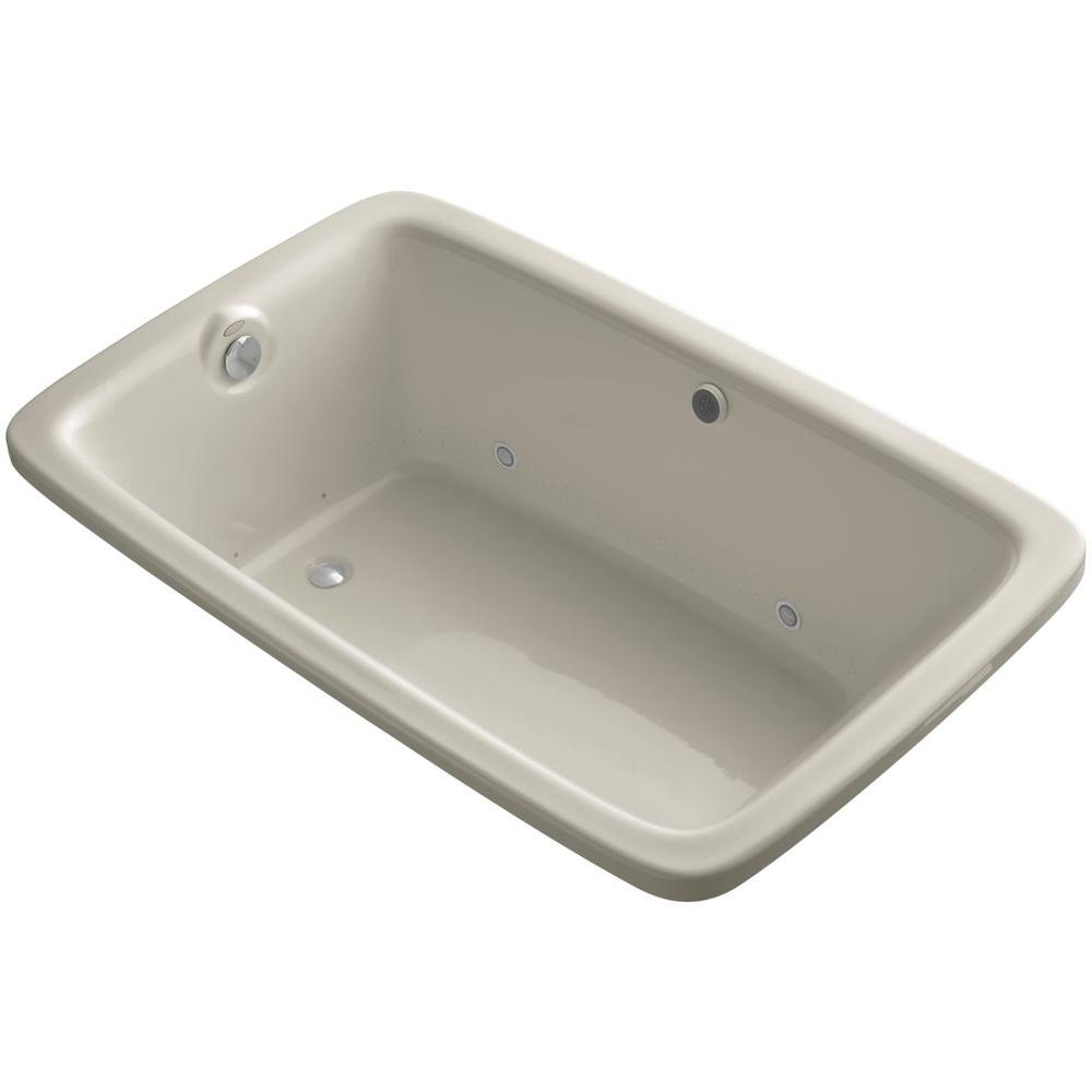 Bancroft 5.5 ft. Air Bath Tub in Sandbar
