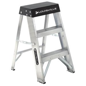 Aluminum Step Ladder with 300 lbs. Load Capacity Type IA Duty Rating  sc 1 st  The Home Depot & Werner 2 ft. Aluminum Step Ladder with 300 lb. Load Capacity Type ... islam-shia.org