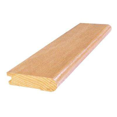 Red Oak Natural 3 in. Wide x 84 in. Length Stair Nose Molding