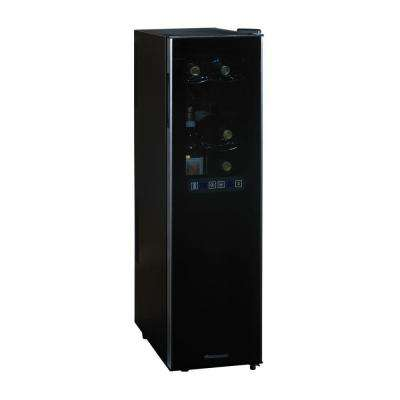 Silent Dual Zone 10 in. 18-Bottle Wine Cooler