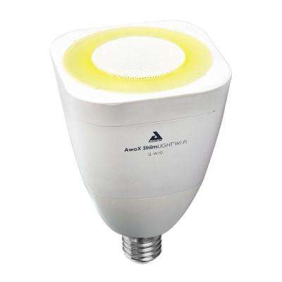 StriimLIGHT 40W Equivalent Bright White (3000K) Wi-Fi LED Light Bulb with Built-In Speaker