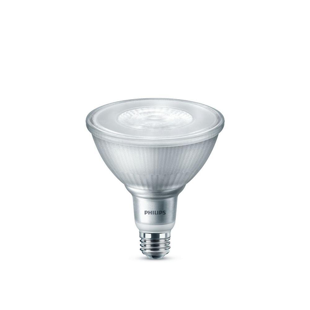 90-Watt Equivalent PAR38 Dimmable LED Flood Light Bulb Bright White (3000K) (2-Pack)