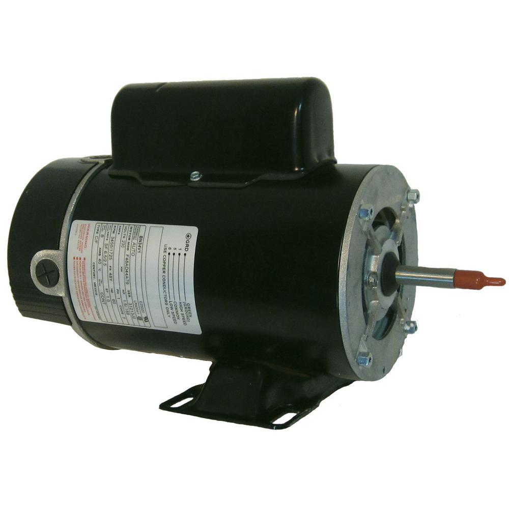 1 HP Pool Hardware Single Speed Replacement Motor