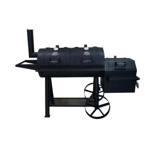 Kingsford 41 inch Ranchers Steer Series Charcoal Grill/Smoker in Black by Kingsford