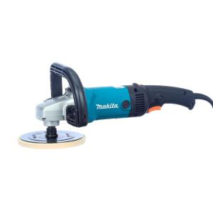 Makita 10 Amp 7 inch Corded Variable Speed Hook and Loop Sander/Polisher w/ Soft Start, Backing Pad, Side... by Makita
