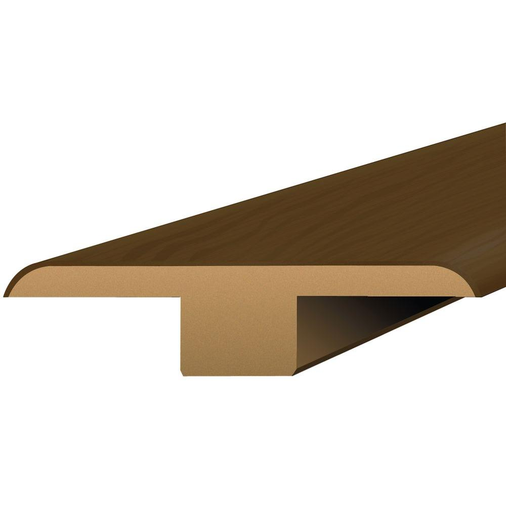 Shaw Southern Walnut 3/8 in. Thick x 1-3/4 in. Wide x 94 in. Length Laminate T-Molding