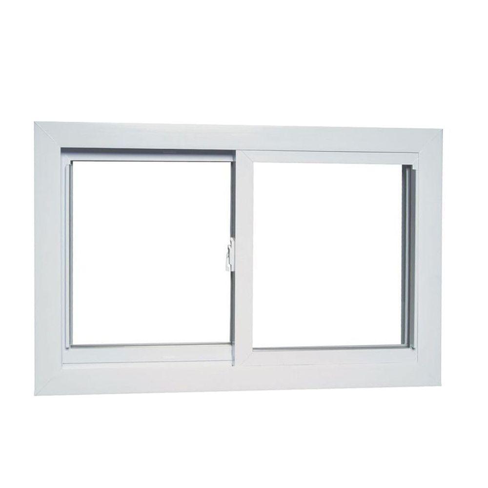 35.75 in. x 23.25 in. 8700 Series Sliding Reversible Vinyl Window
