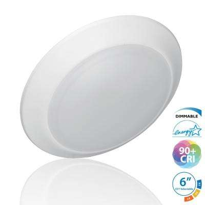 DSK Selectable Series 5/6 in. Surface Mount Integrated LED Recessed Downlight