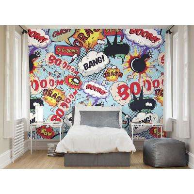Comic Pop Wall Mural