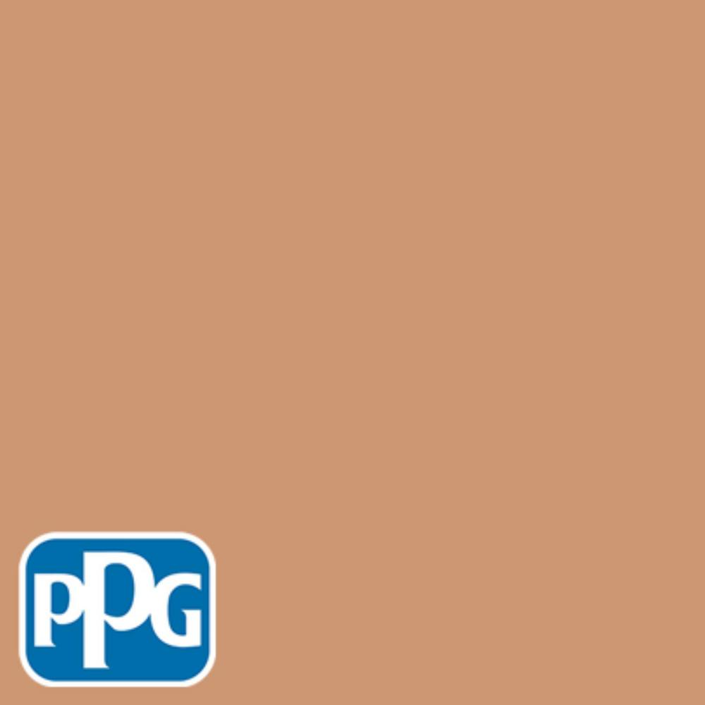 PPG TIMELESS 8 oz. #HDPPGO24 Toasted Coconut Semi-Gloss Interior/Exterior Paint Sample