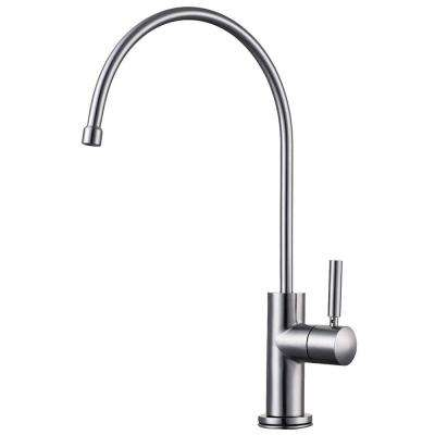 Single-Handle Instant Cold Water Dispenser in Brushed Stainless Steel
