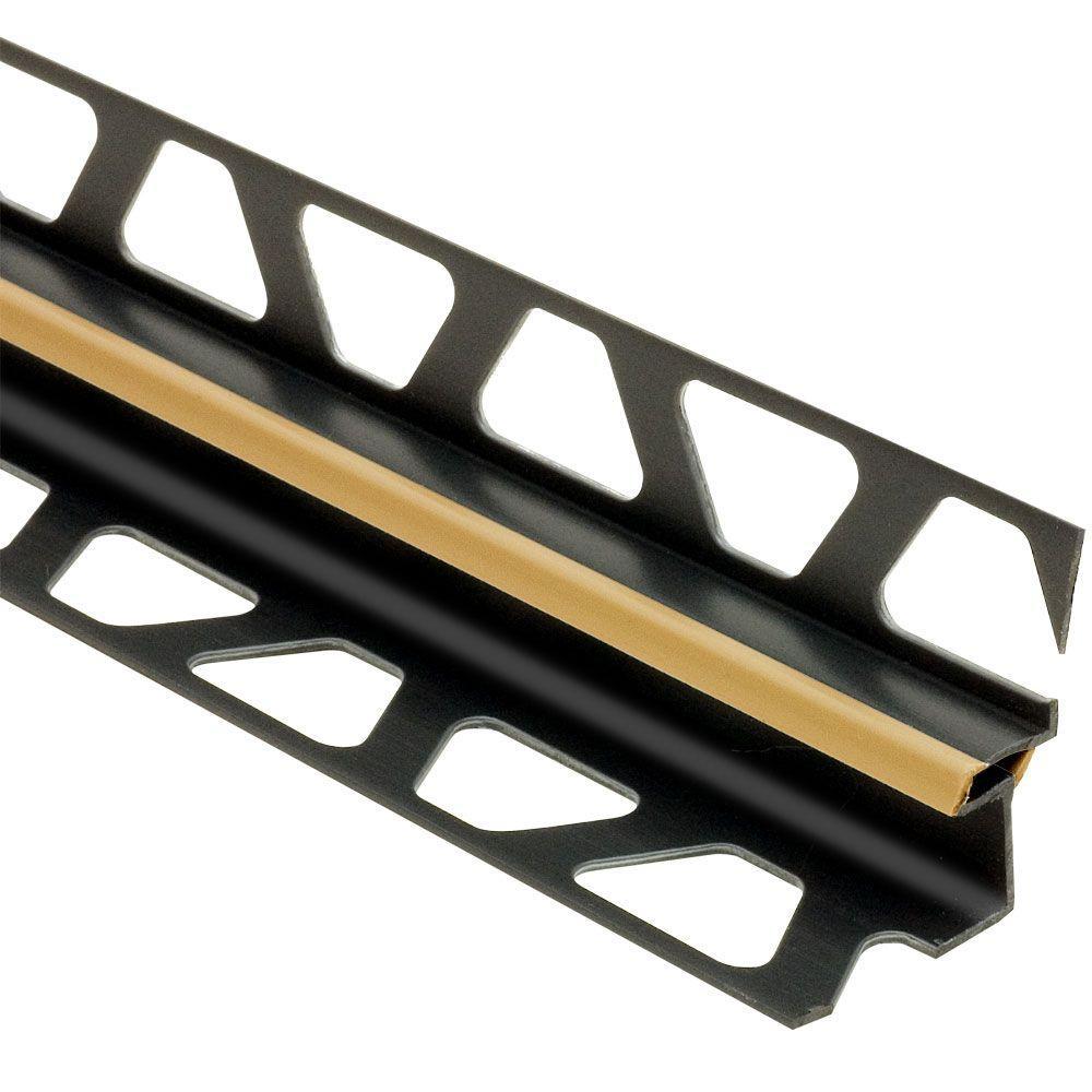 Dilex-EKE Light Beige 5/16 in. x 8 ft. 2-1/2 in. PVC Corner Movement Joint Tile Edging Trim