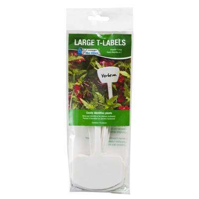 8 in. T-Labels (10-Pack)
