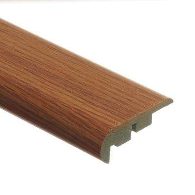 Saybrook Oak 3/4 in. Thick x 2-1/8 in. Wide x 94 in. Length Laminate Stair Nose Molding
