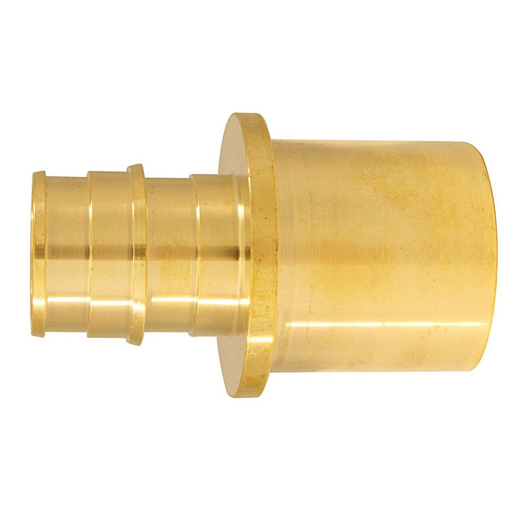 3/4 in. Brass PEX-A Expansion Barb x 1 in. Male Sweat