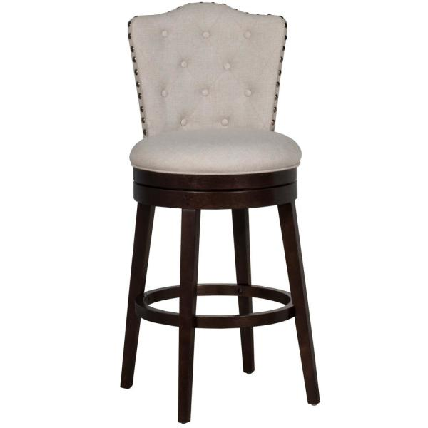 Hillsdale Furniture Edenwood 30.5 in. Cream Bar Stool 5945-832