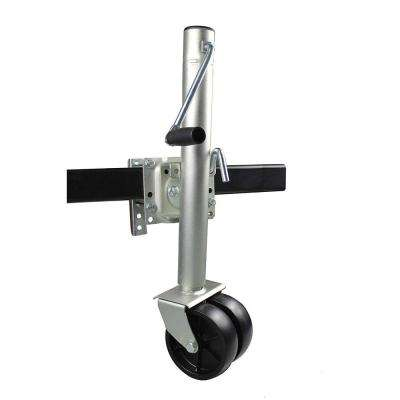 26-1/2 in  to 38 in  1500 lbs  Capacity Lift Swing Back Trailer Jack with  Dual Wheels