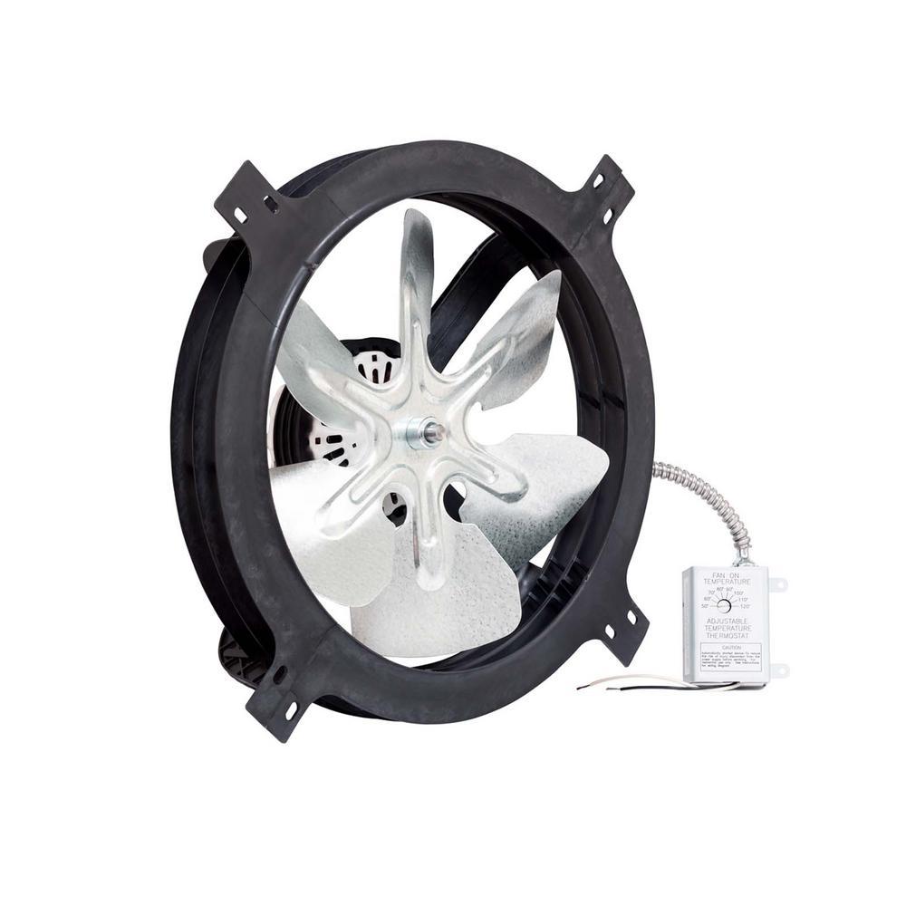 Air Vent 1320 CFM Gable Mount Powered Attic Fan