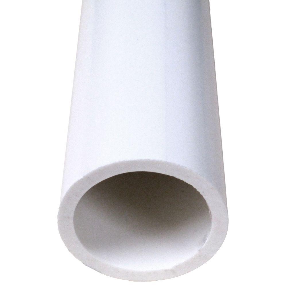 4 in. x 2 ft. PVC Foam Core Sch. 40 Pipe