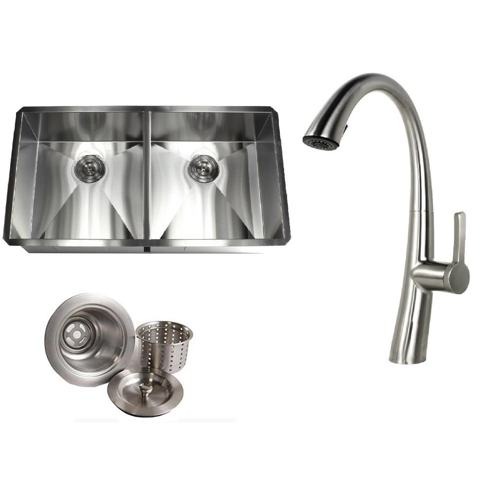 deep stainless steel kitchen sink small space kitchen kingsman hardware undermount deep stainless steel 37 in 20 10 in