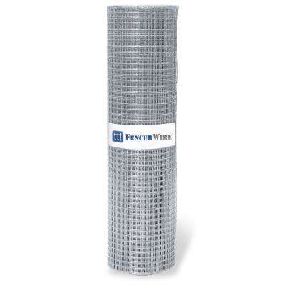 4 ft. x 100 ft. 16-Gauge Welded Wire Fence with 1 in. x 1 in. Mesh