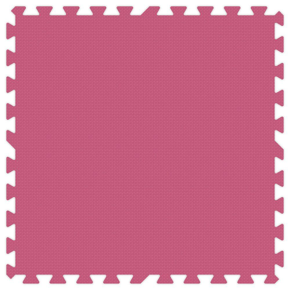 Groovy Mats Pink 24 in. x 24 in. Comfortable Mat (100 sq.ft. / Case)