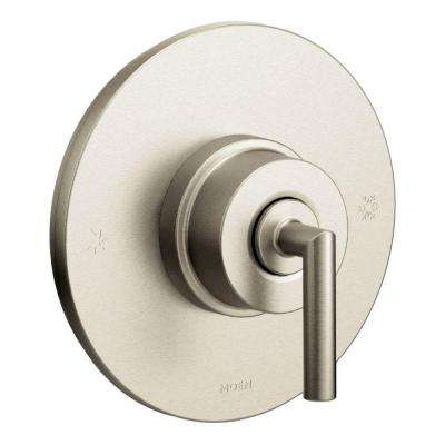 Glyde Posi-Temp Rain Shower 1-Handle Shower Only Faucet Trim Kit in Chrome (Valve Not Included)