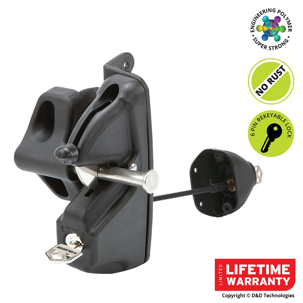 D&D Security Dual Access Latch