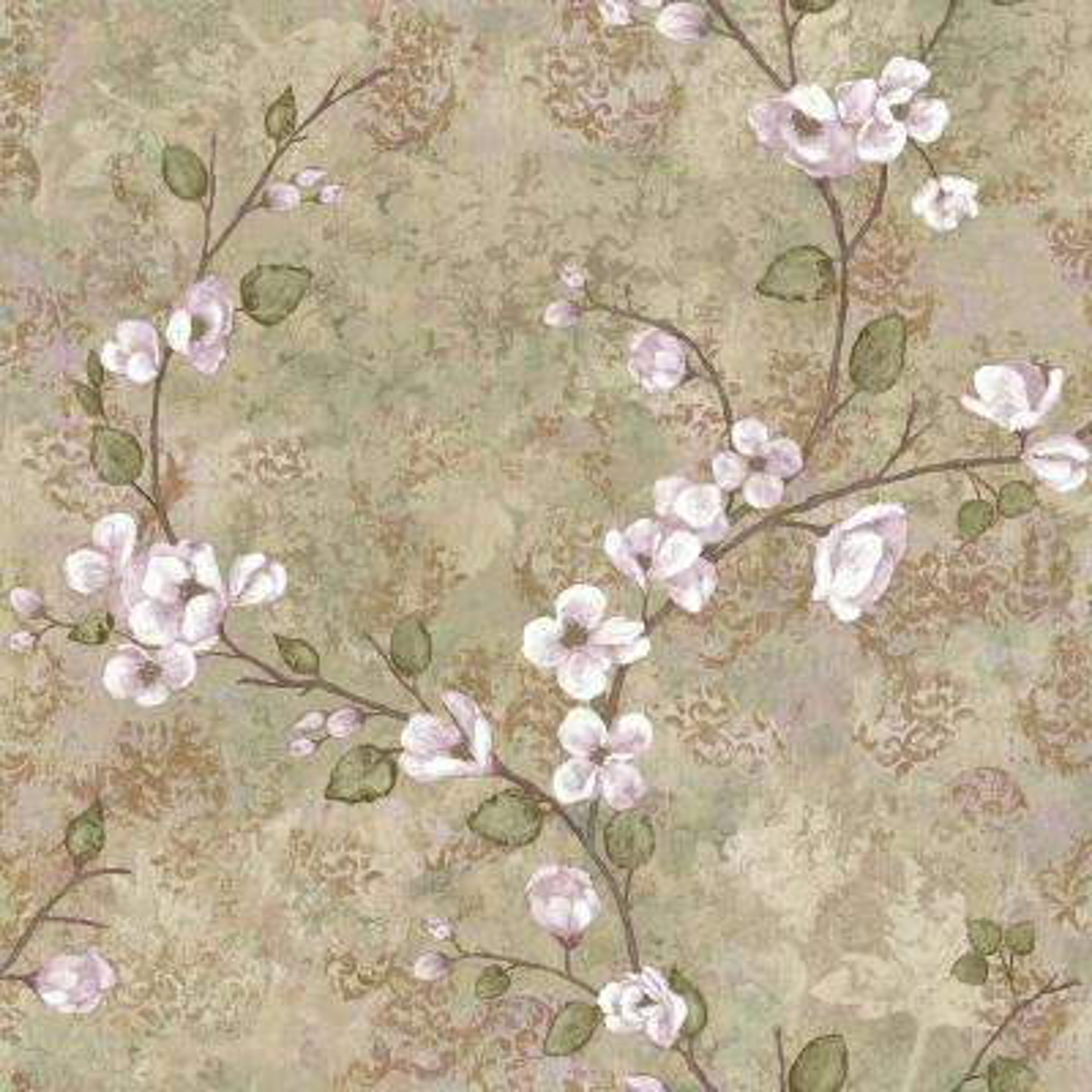Charlotte Dogwood Wallpaper