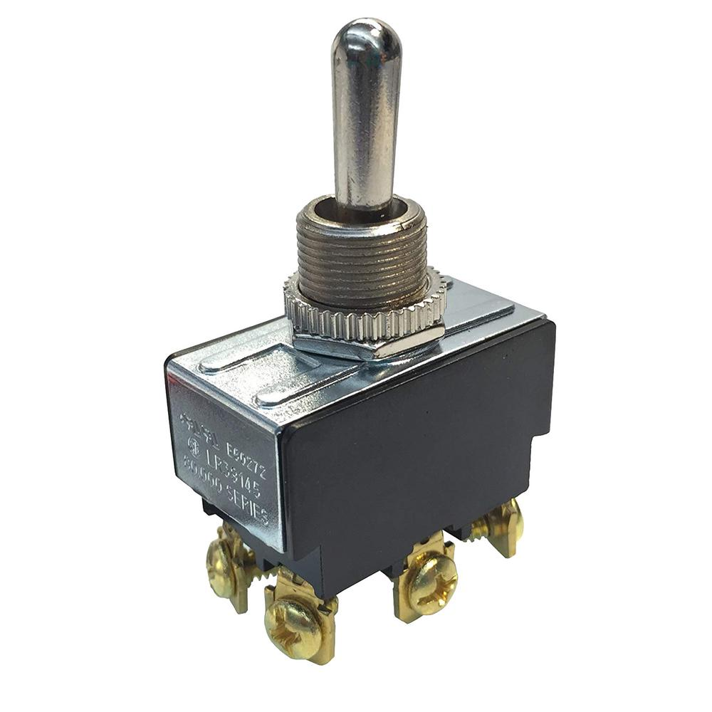 Gardner Bender 20 Amp Double Pole Toggle Switch 1 Pack