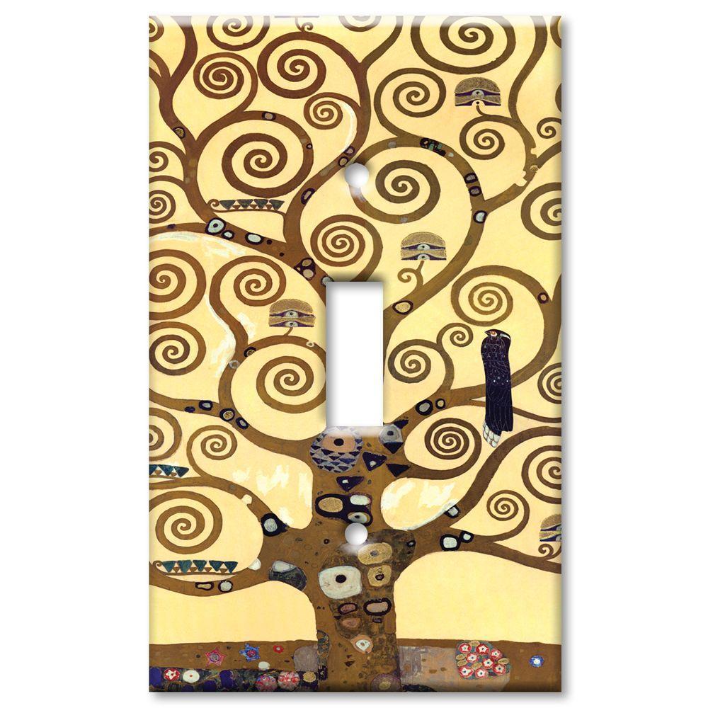 Art Plates Klimt The Tree of Life Oversize 1 Wall Plate