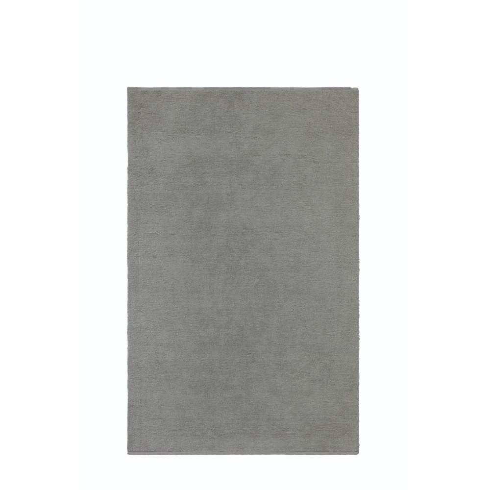 Royale Chenille Light Grey 2 ft. x 4 ft. Area Rug