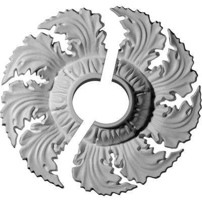 14-5/8 in. O.D. x 3-1/2 in. I.D. x 2-1/4 in. P Needham Ceiling Medallion (2-Piece)