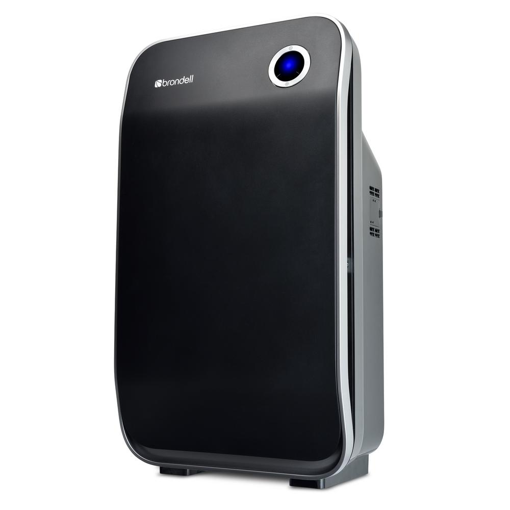 Brondell O2+ Halo TrueHEPA and Carbon Deodorizing Air Purifier