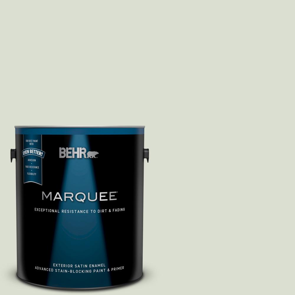 Behr 5 Gal N510 2 Galactic Tint Urethane Alkyd Satin Enamel Interior Exterior Paint From Home Depot Real Simple