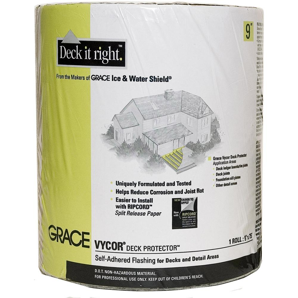 Vycor 0.025 in. x 9 in. x 75 ft. Deck Protector