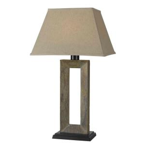 Kenroy Home Egress 32 inch Natural Slate Outdoor Table Lamp by Kenroy Home