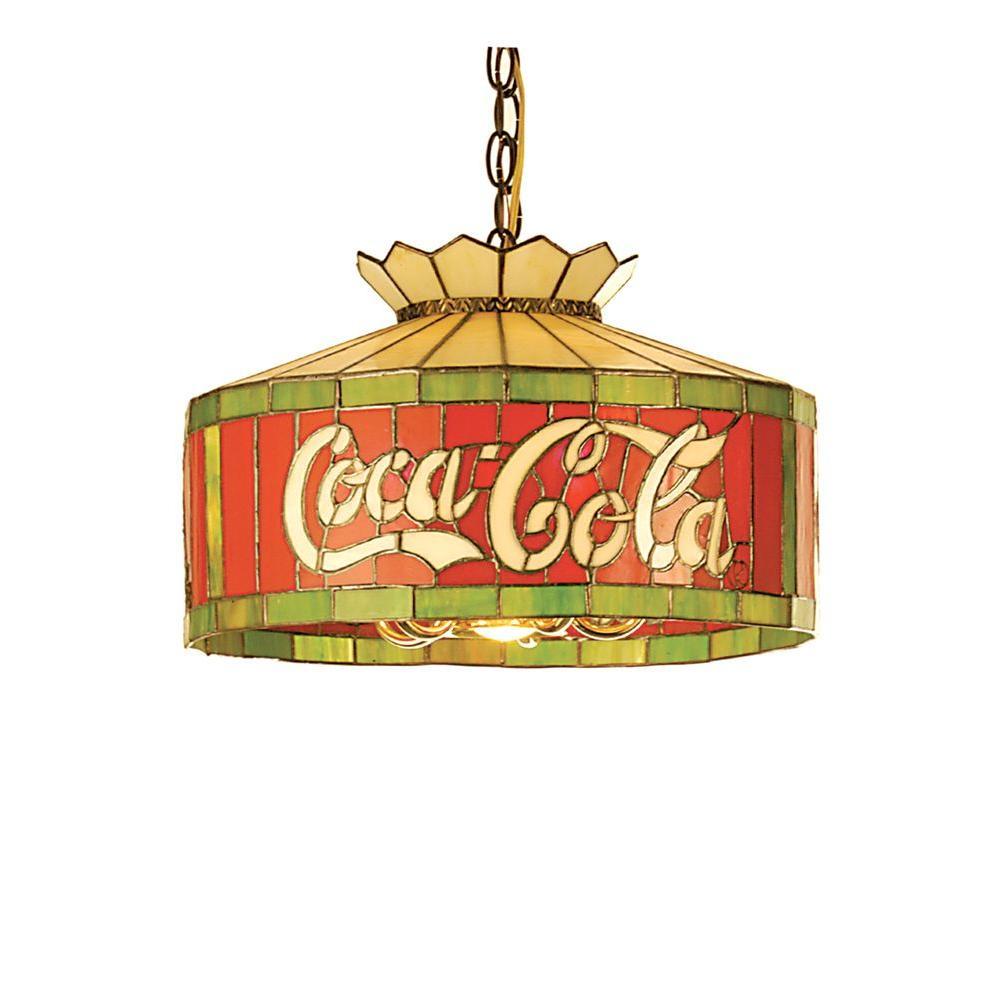 Illumine 6 Light Coca-Cola Pendant