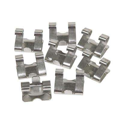 Stainless Steel Hinged Guard Clip (8-Pack)