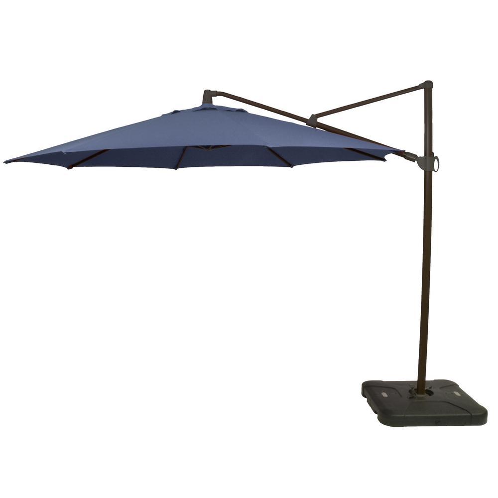 Hampton Bay 11 Ft Aluminum Cantilever Tilt Patio Umbrella