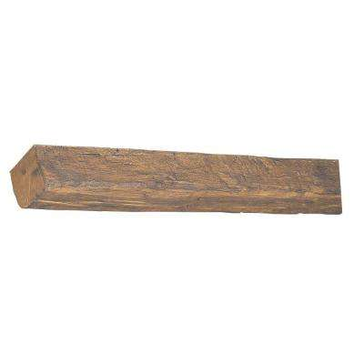 7-3/4 in. x 6-1/8 in. x 11 ft. 6 in Faux Wood Beam