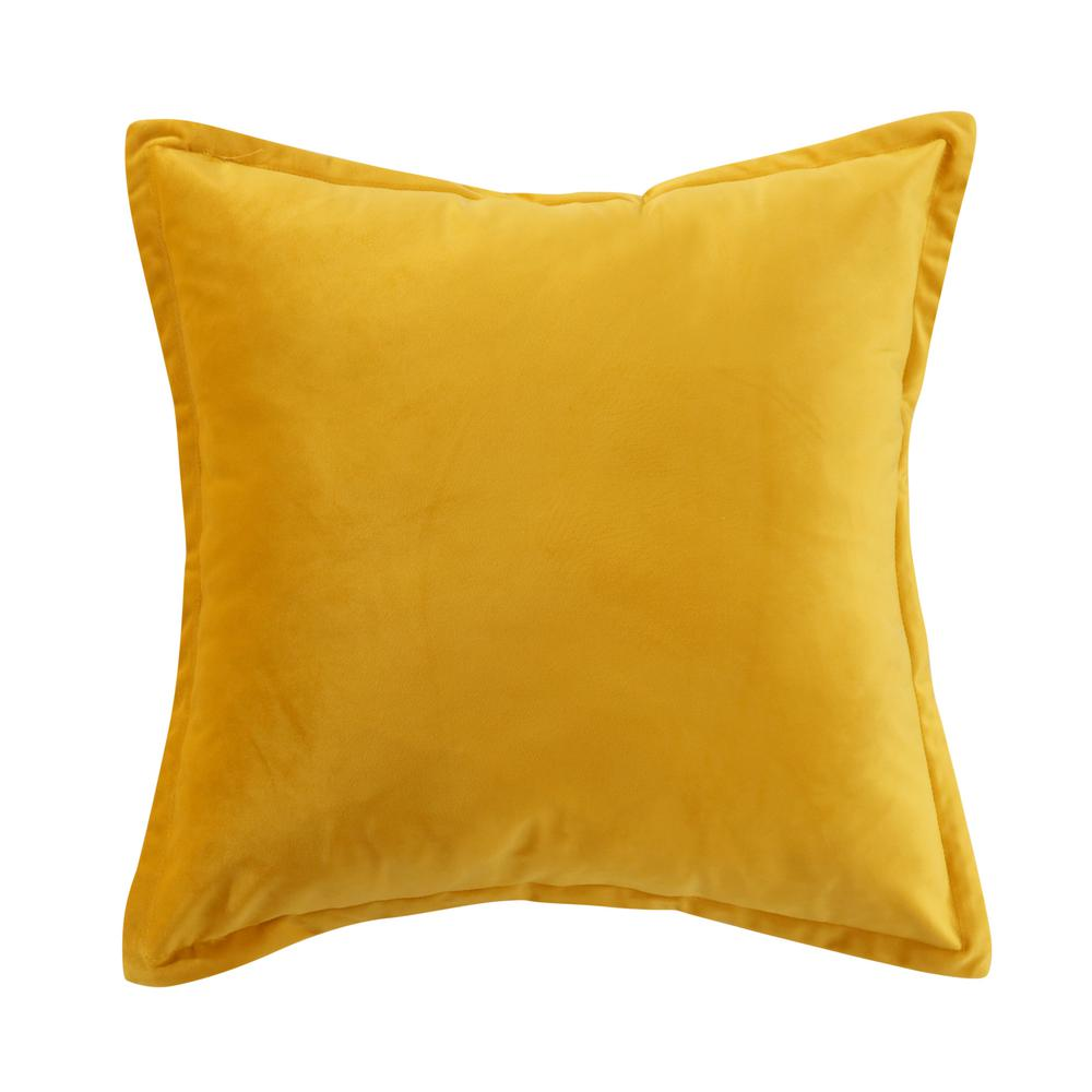 barrel and pillows trevino crate silk pillow yellow sunflower