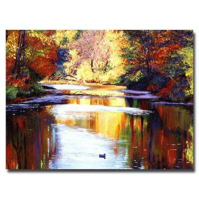 24 in. x 32 in. Reflections of August Canvas Art