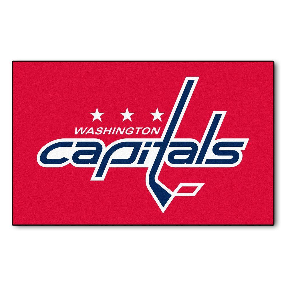 Washington Capitals 5 ft. x 8 ft. Ulti-Mat