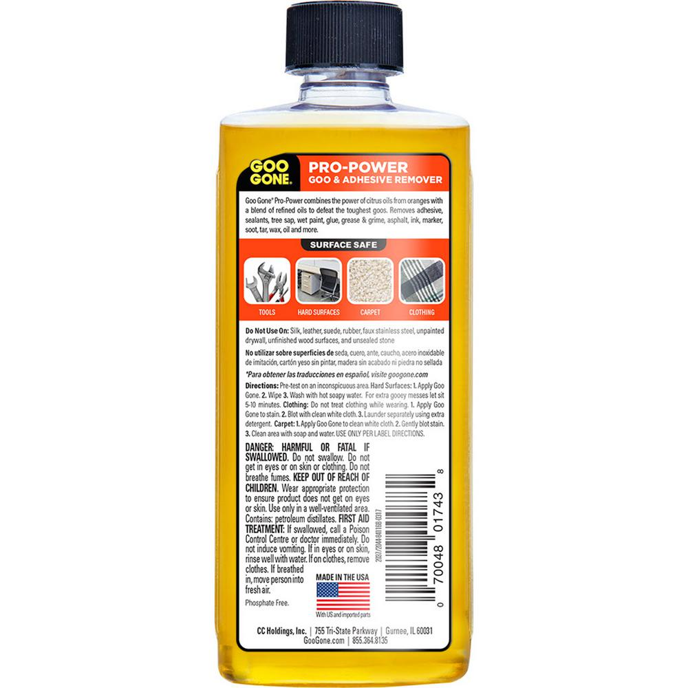 Unbelieveable Citrus Gel Grease Adhesive /& Tar Remover