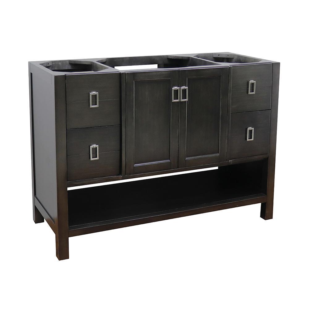 Monterey 48 in. W x 21.5 in. D Bath Vanity Cabinet Only in Brown