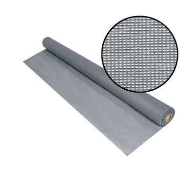 48 in. x 100 ft. Silvergray Solar Insect Screen