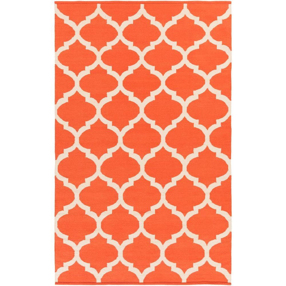 Vogue Everly Coral 8 ft. x 10 ft. Indoor Area Rug