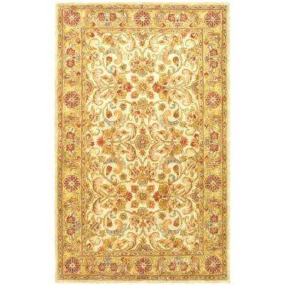 Classic Gray/Light Gold 9 ft. x 12 ft. Area Rug